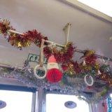 『北勢線サンタ電車』に乗ってみた!車内の様子や混雑状況をレポ♪【クリスマストレイン】
